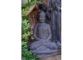Bouddha Assis Lotus Méditation