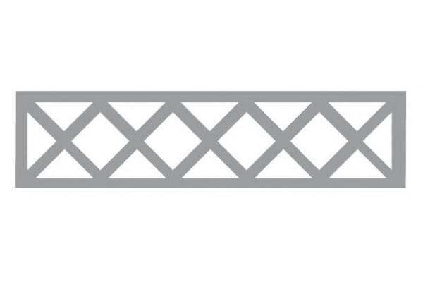 Plaque cloture beton Ajourée avec Croisillons