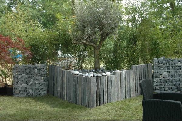 Piquet Ardoise Naturelle 1m - Jardin