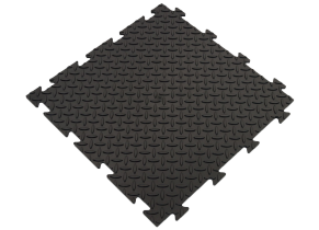 Dalle Clipsable PVC Souple Noir