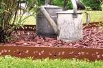 Bordure Galva Colorée Ajourée - jardin