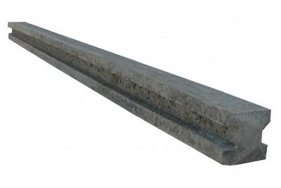 Poteau beton cloture 5 plaques