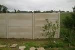 Plaque Droite Sable - clôture