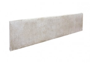 Plaque cloture beton lisse