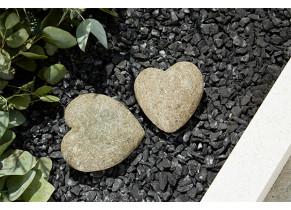 Coeur de pierre - jardin