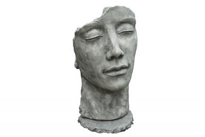 statue visage homme Effet Pierre