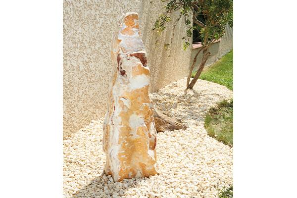 Monolithe Savane Veiné - jardin