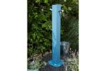 Fontaine jardin Alu Bleu