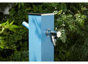Fontaine Alu Bleu - zoom