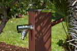 Fontaine a eau jardin - Alu Rouille