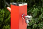 Fontaine a eau jardin - Alu Rouge