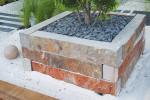 Bordure Quartzite Cuivre - jardin