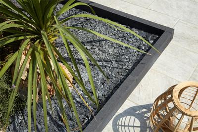 Bordure Contemporaine Gris - Plantes