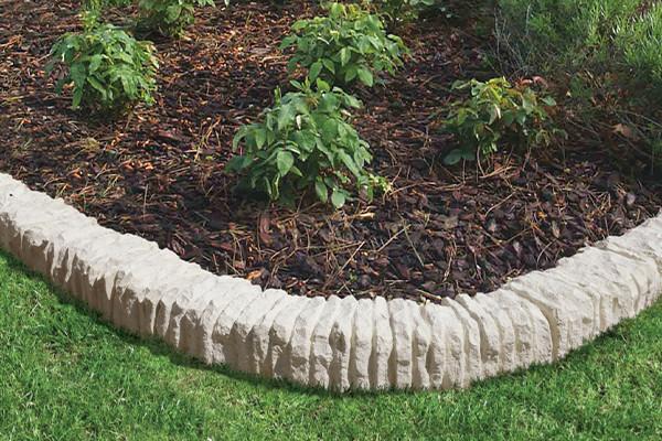 Bordure Courbe Aubrac - jardin