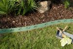 Bordure Galva - Feuille Olivier - jardin vert olive