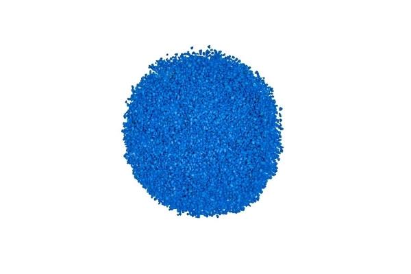 Gravier décoratif bleu océan marbre 2/4 mm détouré
