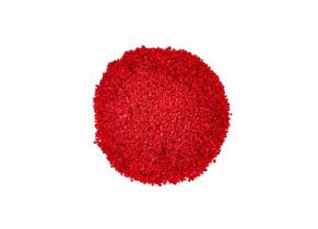 Gravier décoratif rouge carmin 2/4 mm détouré