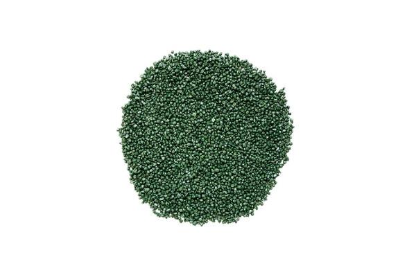 Gravier décoratif vert tropical 2/3 mm détouré