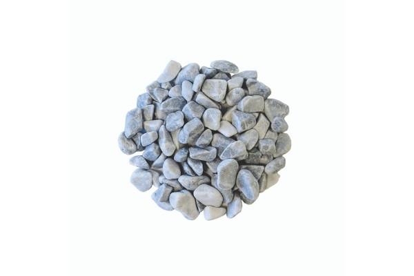 Gravier roulé bleu lagon marbre 15/25 mm détouré