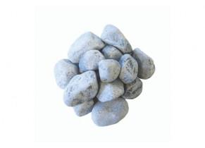 Galet bleu lagon marbre 40/60 mm détouré
