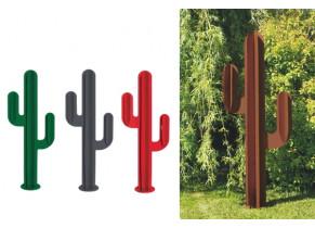 Cactus déco extérieur métal 3 branches