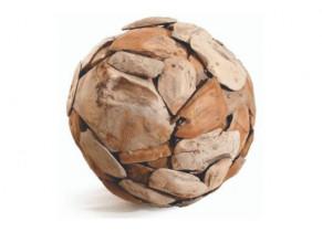 Sphère teck détouré