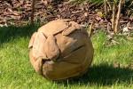 Sphère teck ambiance 1