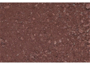 Sable pétanque rouge 0/3 mm zoom