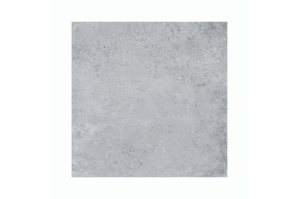 Dalle extérieur grès cérame Maya 60 x 60 cm grise détouré