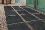 Dalle extérieur grès cérame Gothic 60 x 60 cm ambiance