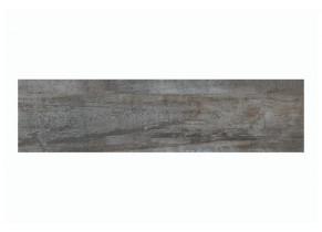 Dalle extérieur grès cérame Forest Black 30 x 120 cm détouré
