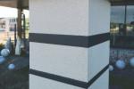Kit 2 inserts décoratifs pilier de portail anthracite ambiance