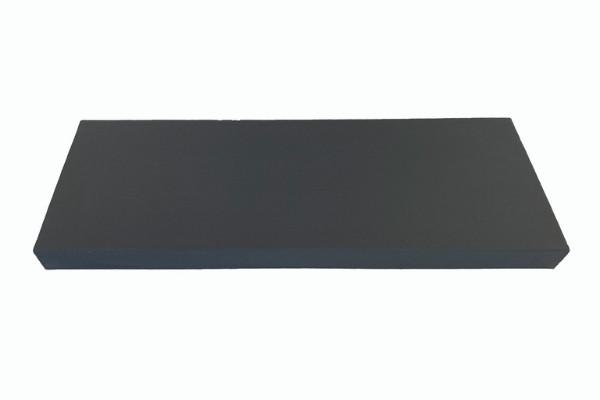 Couvre mur perforé gris ardoise 80 cm détouré