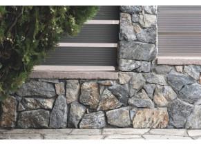 Plaquette de parement extérieur pierre Akron ambiance 1