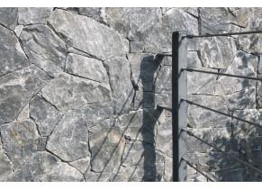 Plaquette de parement pierre Evenos Black ambiance