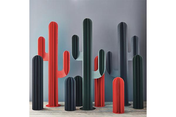 Sculpture exterieure Cactus métal 3 branches interieur