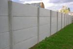 Cloture beton plaque poteau
