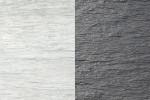 cloture beton ardoise lasure