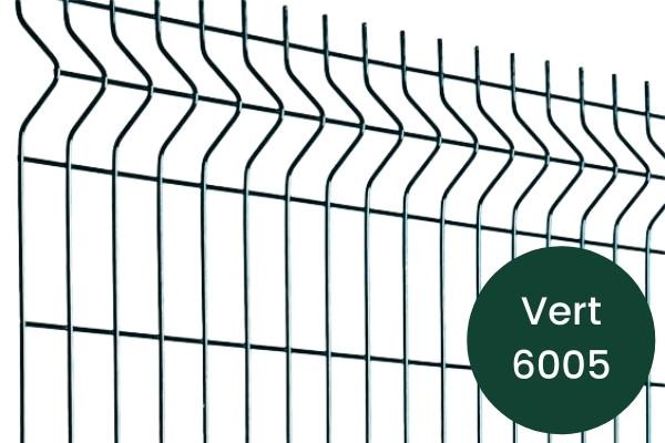 Panneau grillage rigide vert 6005