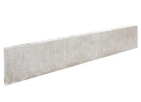Plaque de soubassement béton droite 200 x 25 x 3.8 cm